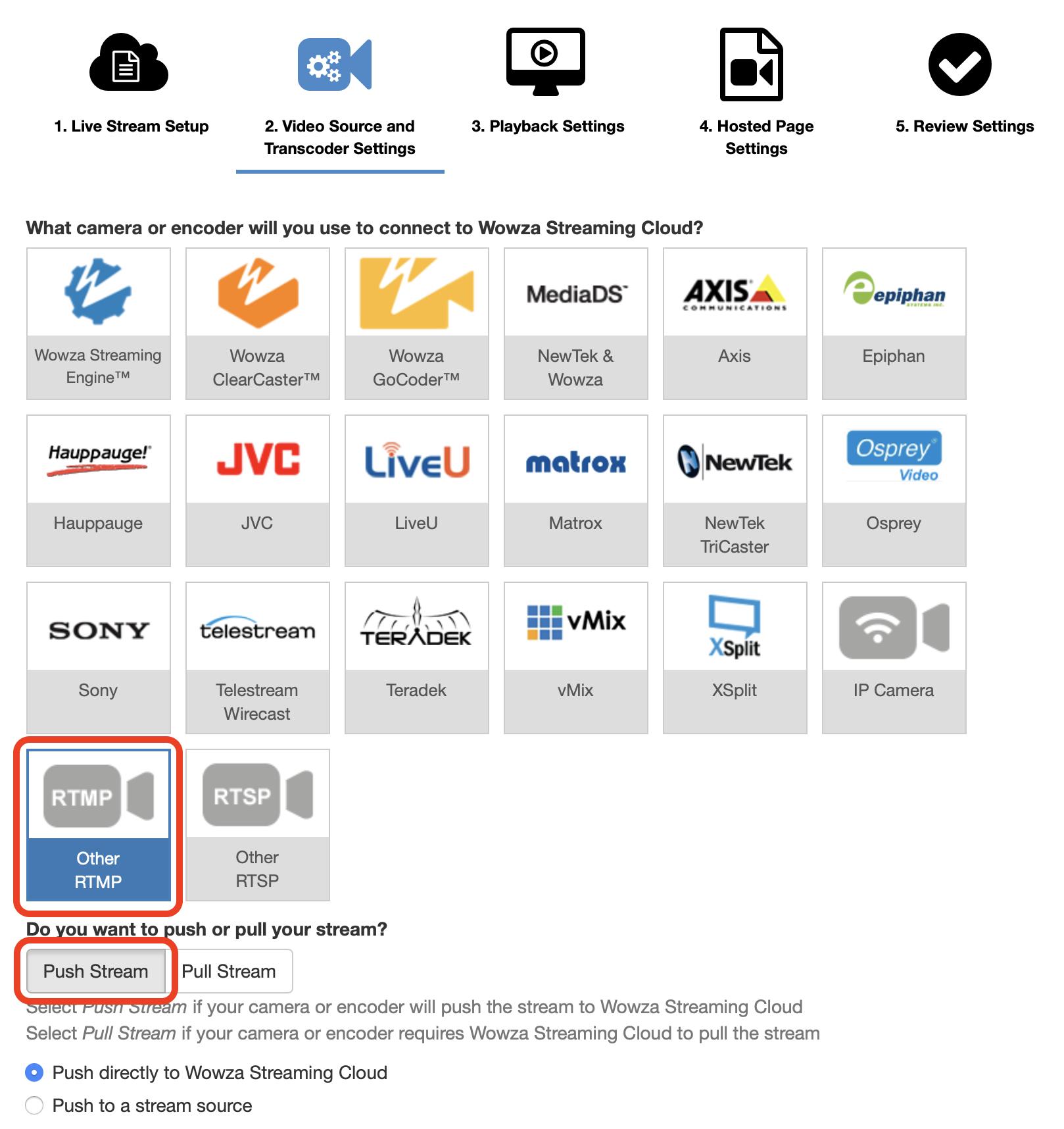 wowza streaming server documentation
