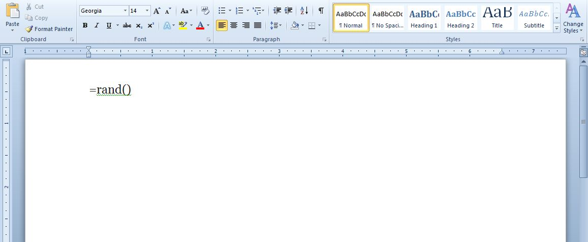 adding text to word document anywhere