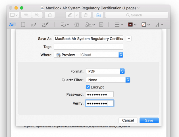 how to protect a pdf document