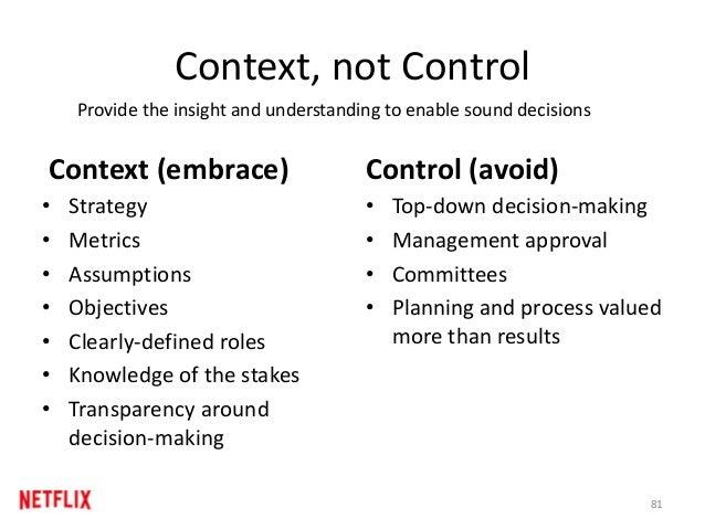 netflix company culture document pdf