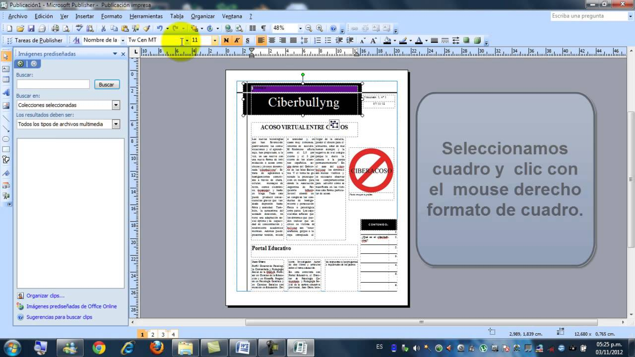 how to insert a word document into publisher 2007