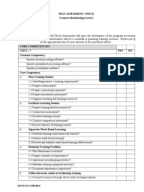 training and assessment strategy document and a learning program