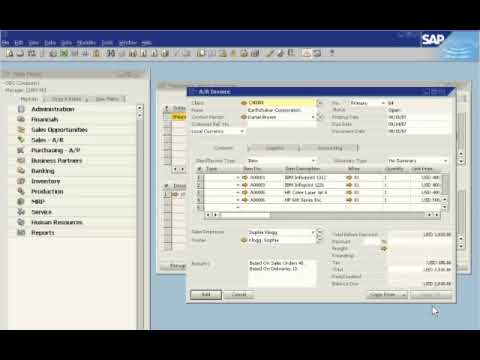 document management system sap business one