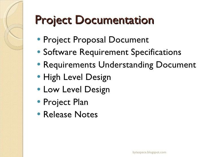 types of it documentation