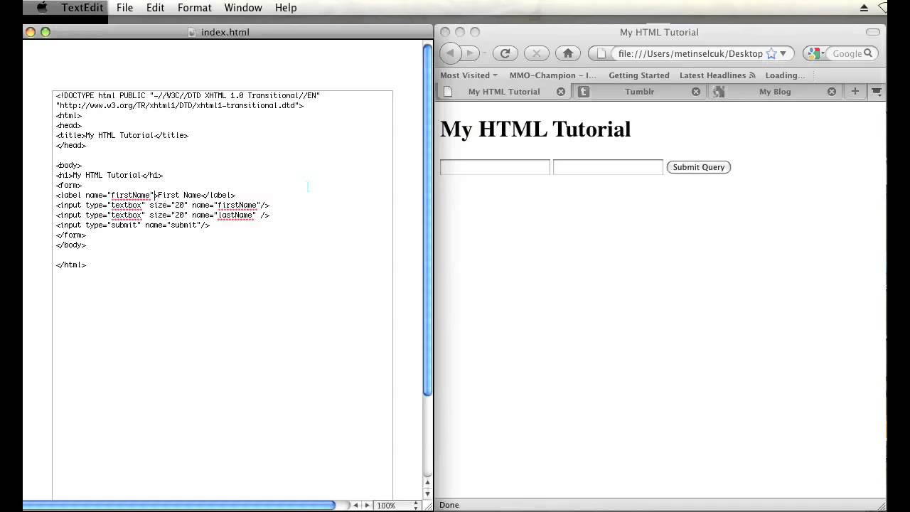 how to make a txt document html