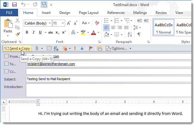 how to copy a word document