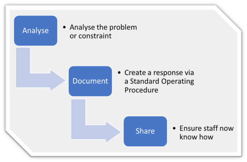 standard operating procedure document for software development