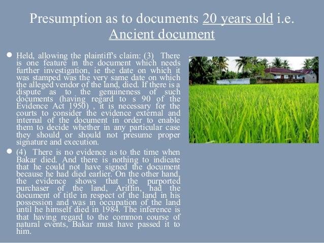 registered stamped transfer of land document