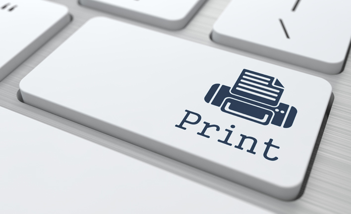 can an original document be printed ie online