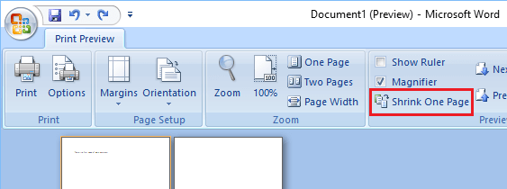 how to remove a blank page from a word document