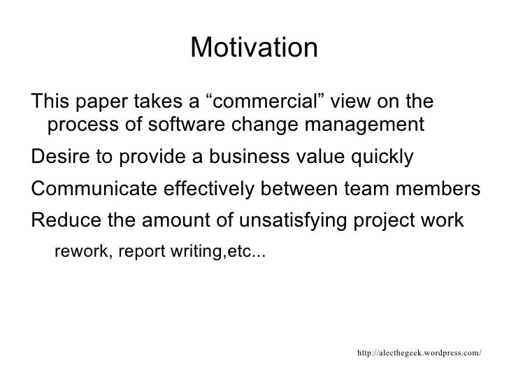 software build process documentation