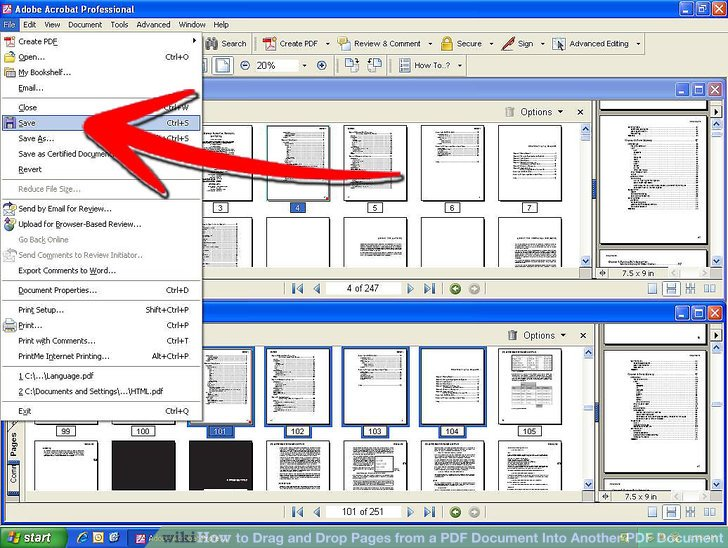how to make a pages document into a pdf