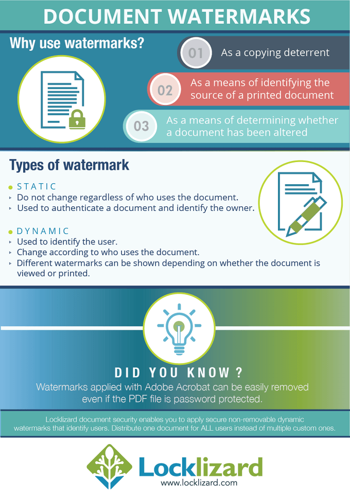 how to wstermark an important document