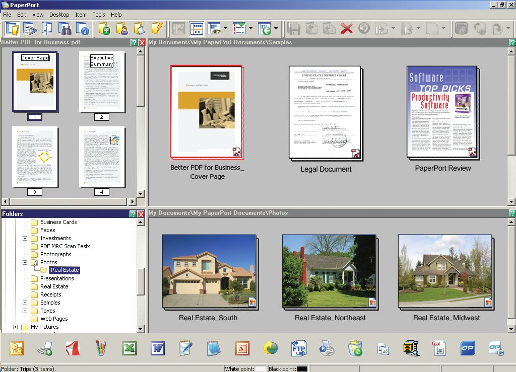 how to print a scanned document