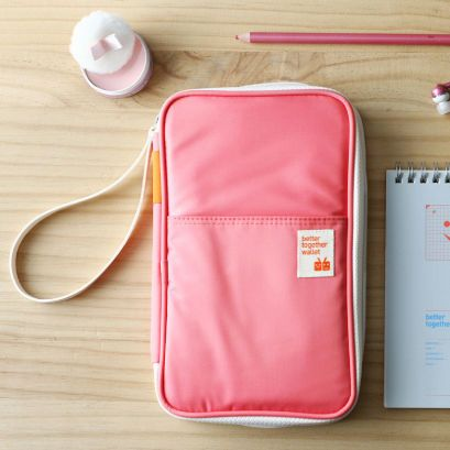 travel passport wallet & document organizer bag