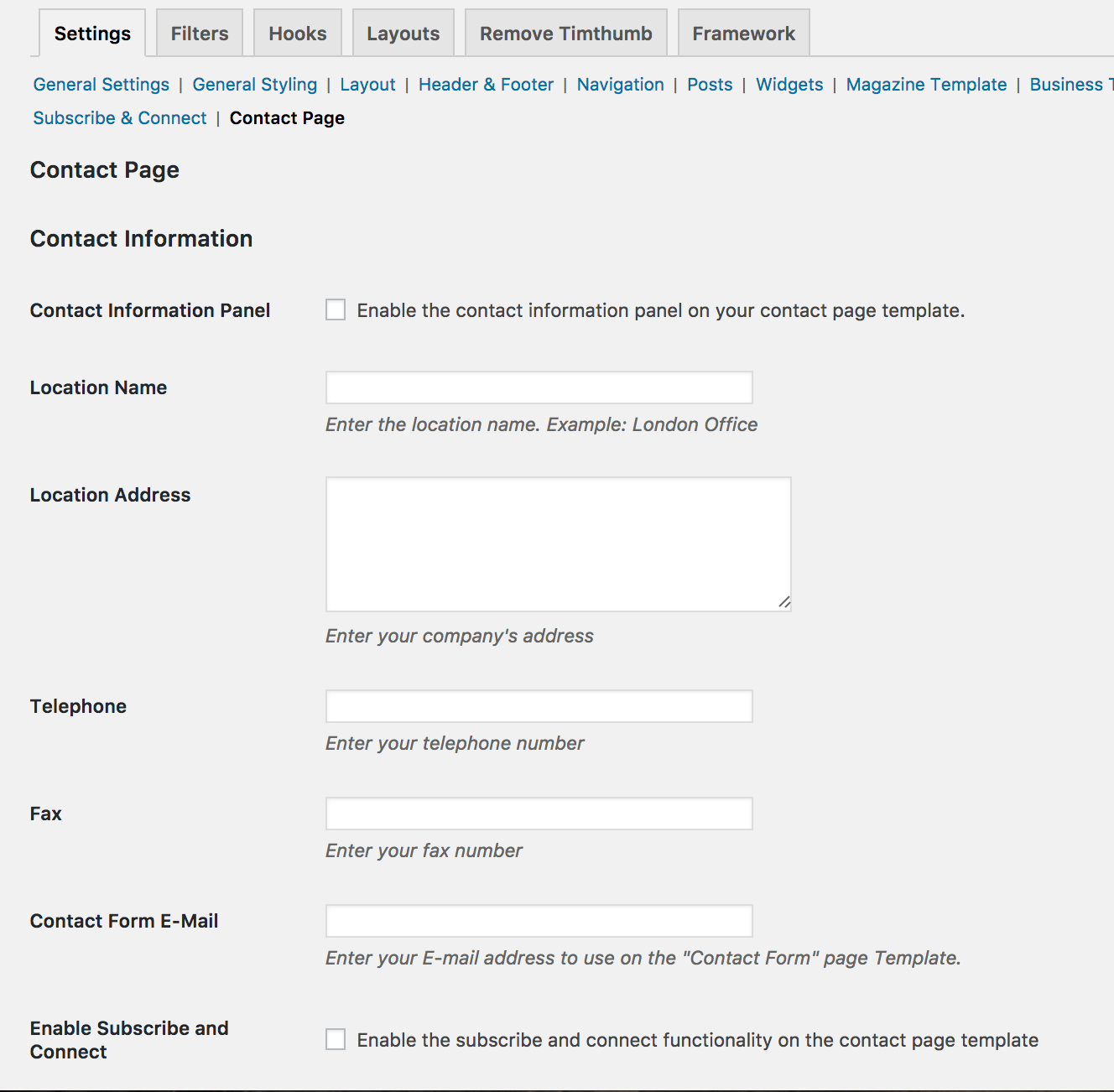 contact form 7 documentation wordpress
