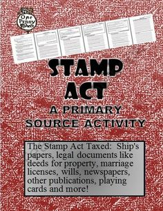 tea act primary source document