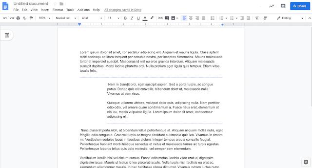 how do i put a word document into google docs