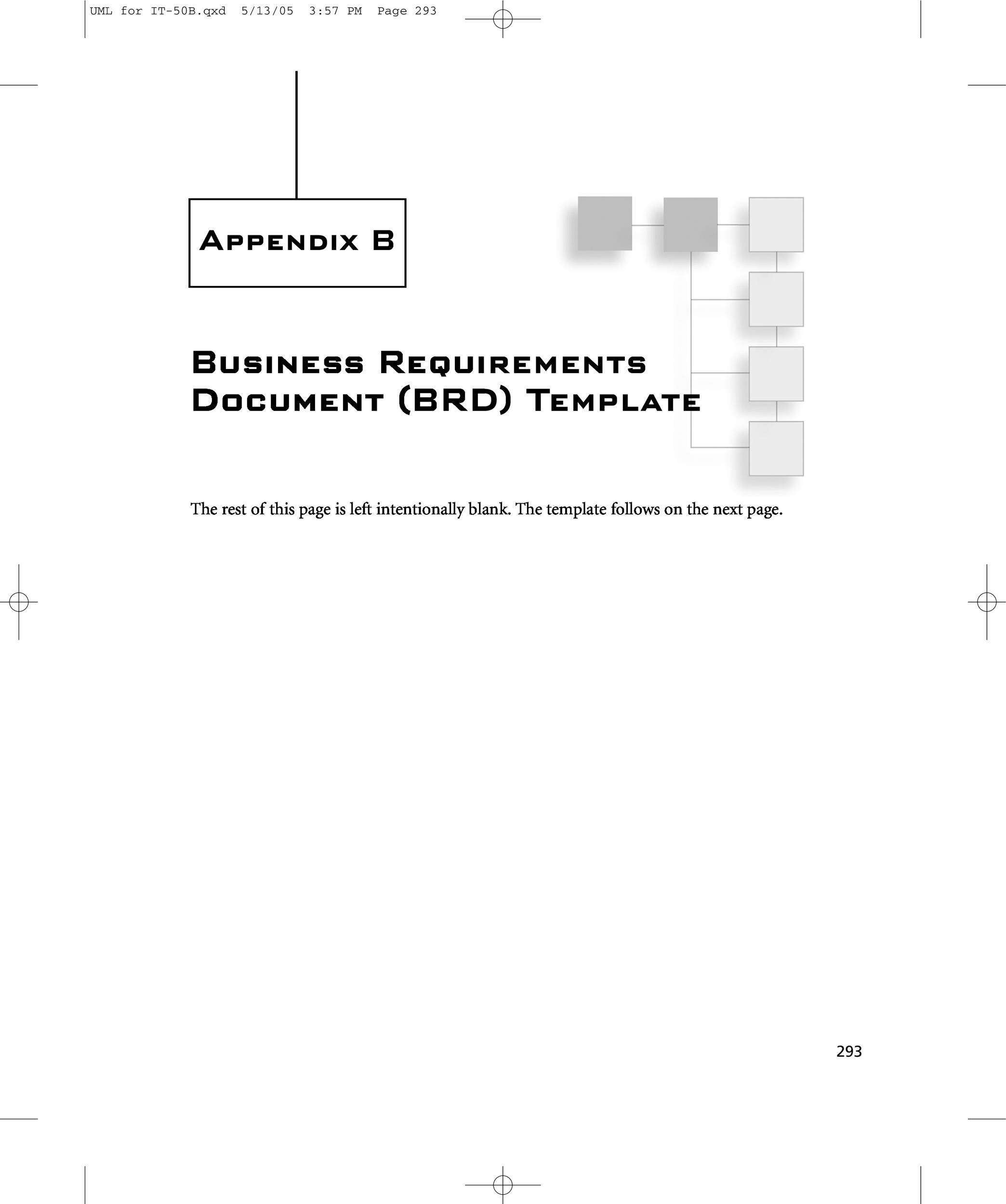business requirement document example doc