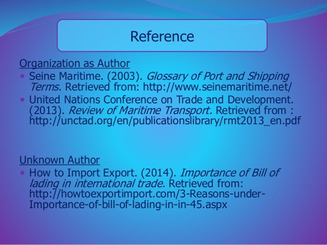 reference a united nations document