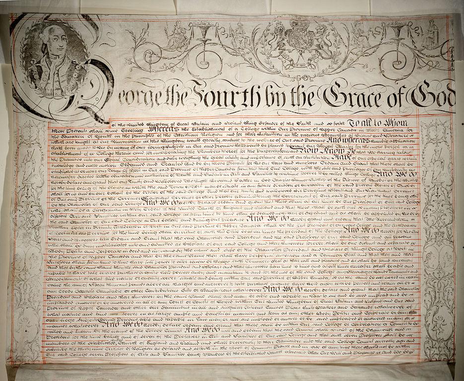 a charter is a written document that