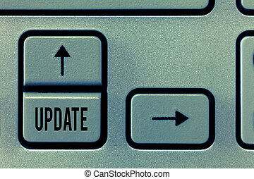 what to call an update version of a document