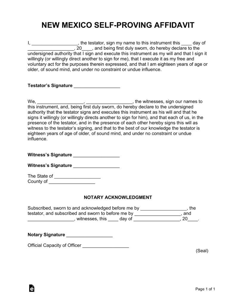 is a notarized document legal