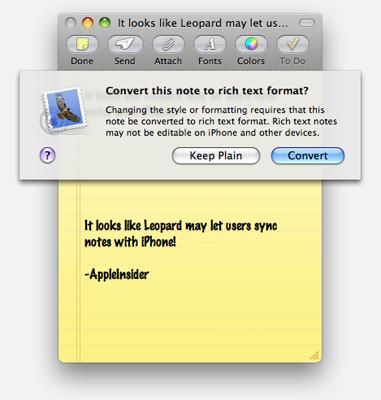 synchronizing formatting in a document