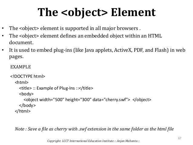 which html element defines the title of a document