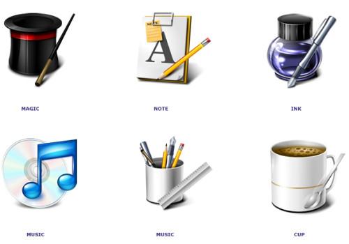 how to set desktop icons user document folder