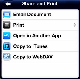 how to sign a word document on ipad
