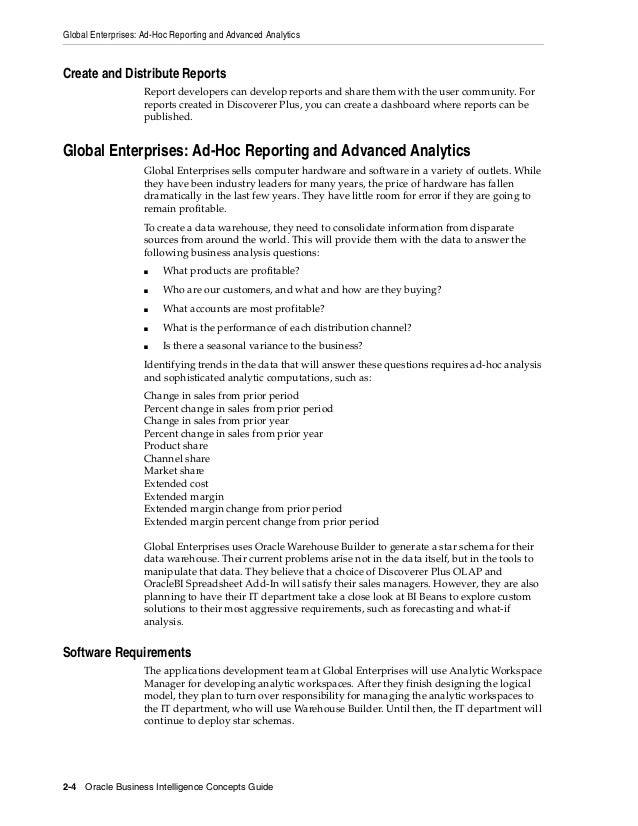 oracle advanced analytics documentation