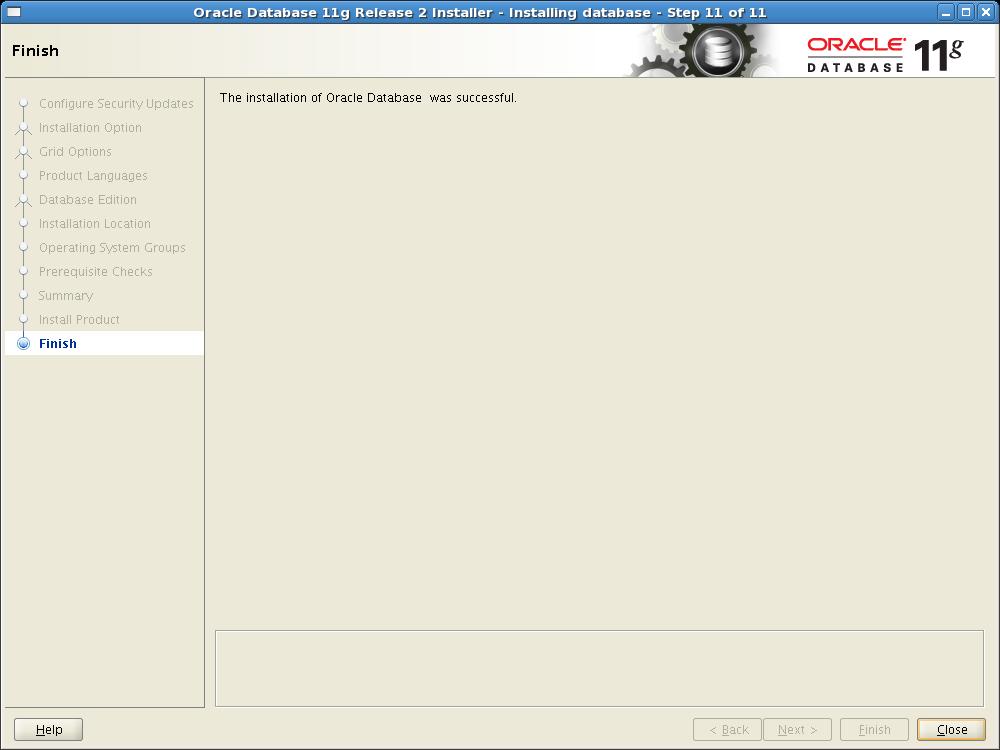 oracle database 11g documentation