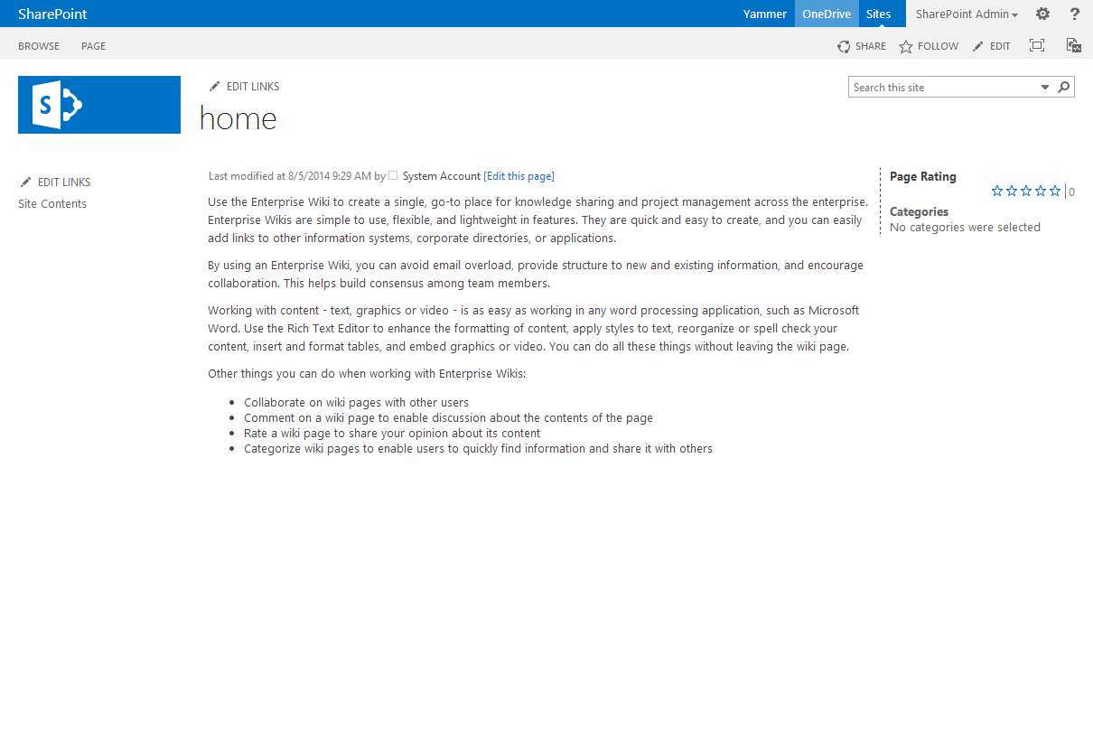 document center template sharepoint 2013