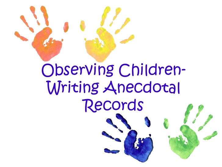 examples of holistic documentation planning and assessment records at preschool