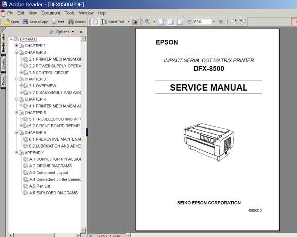epson workforce 520 printer error see your documentation