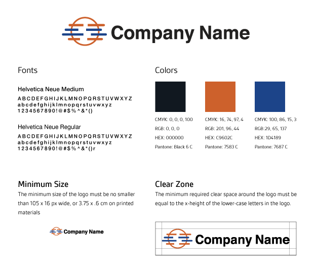 how to create a brand guidelines document