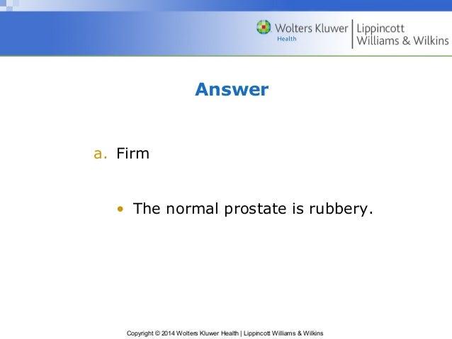 normal prostate exam documentation