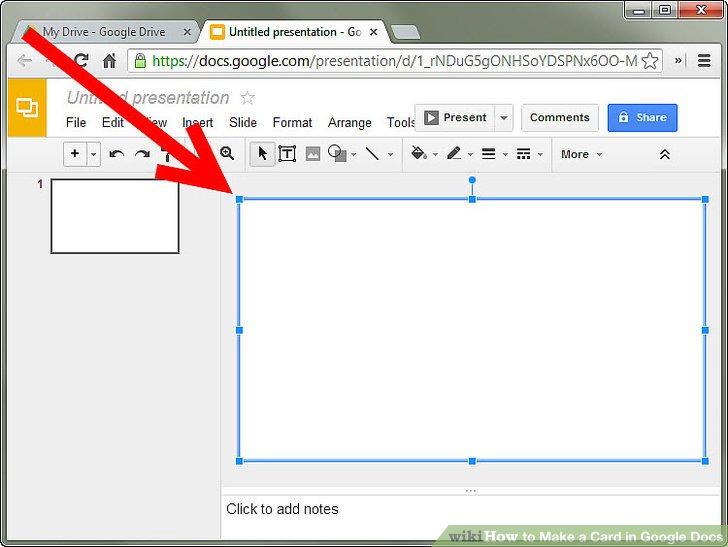 how to make a google document horizontal
