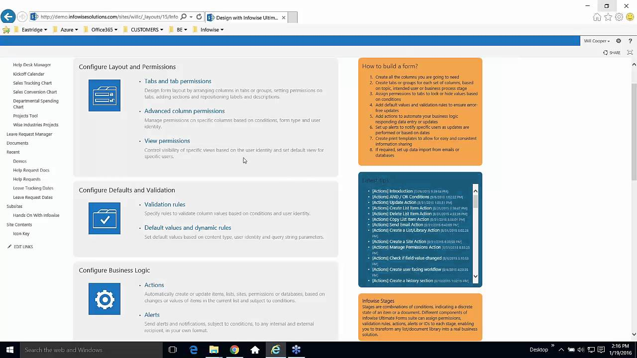sharepoint document management system demo