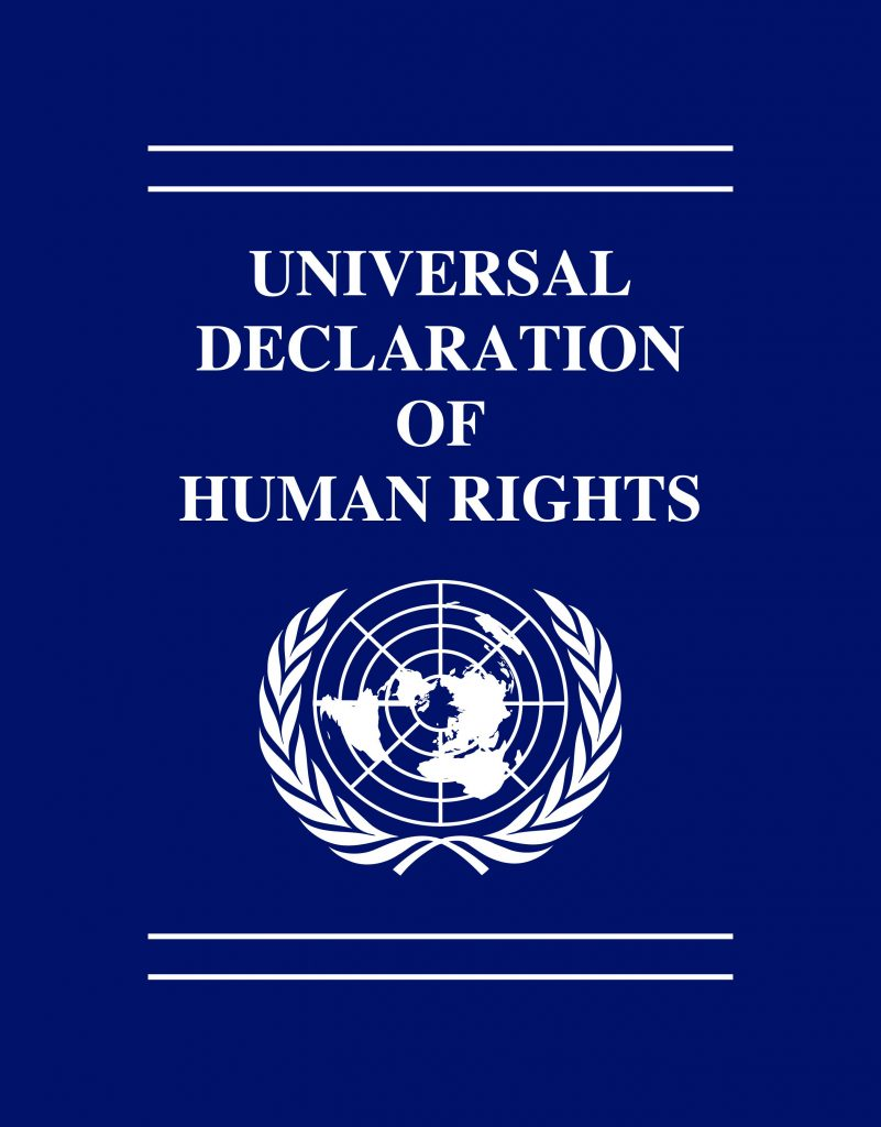 united nations declaration of human rights document