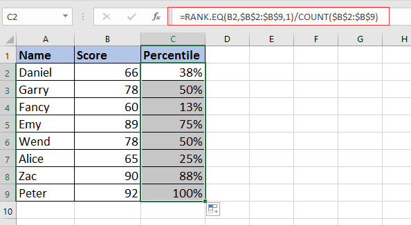 calculate total in word document