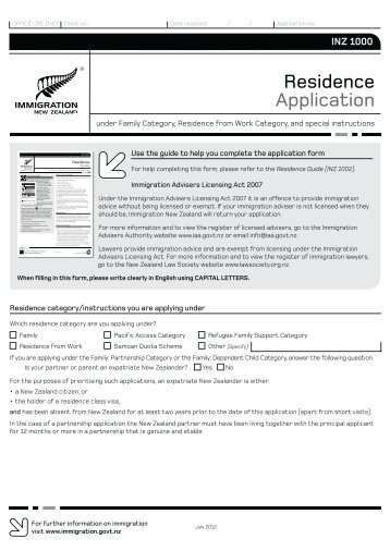 how to attach document new zealand visa application