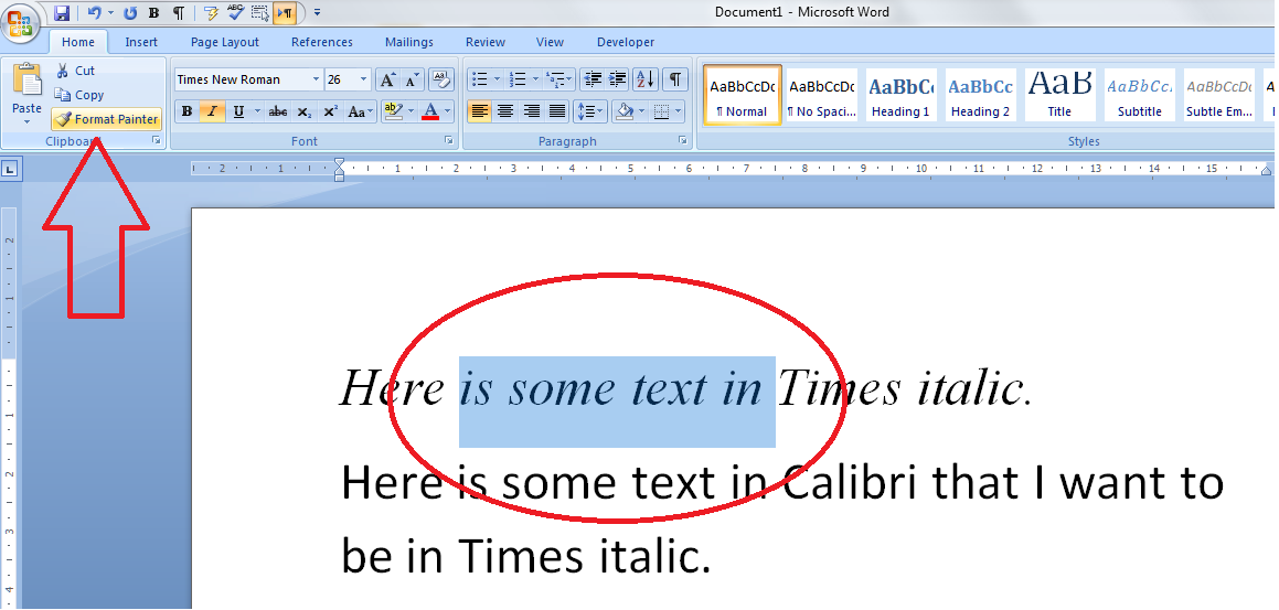 how to copy text from one word document to another
