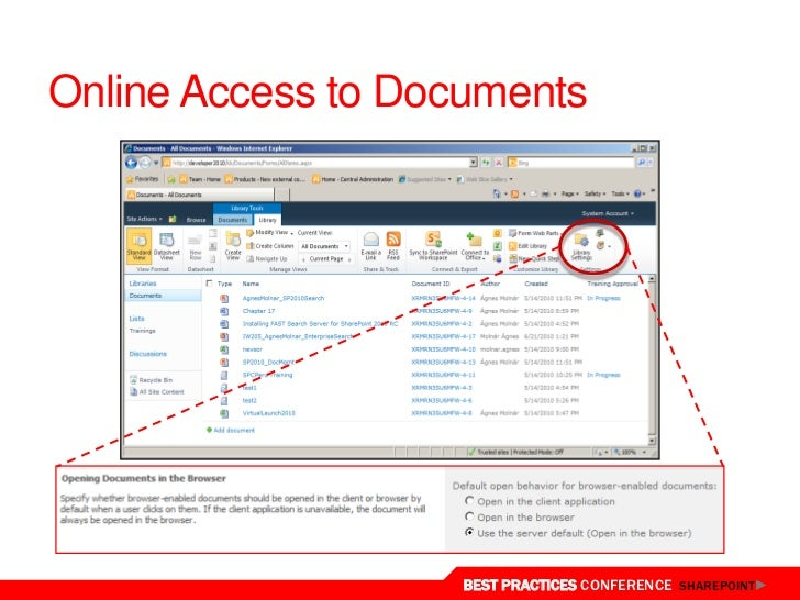 document management in sharepoint online