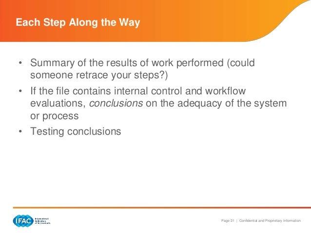 importance of audit documentation