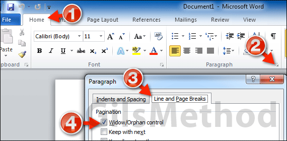 how to turn on document map in word 2010
