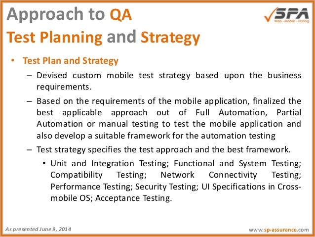 test strategy vs test plan document