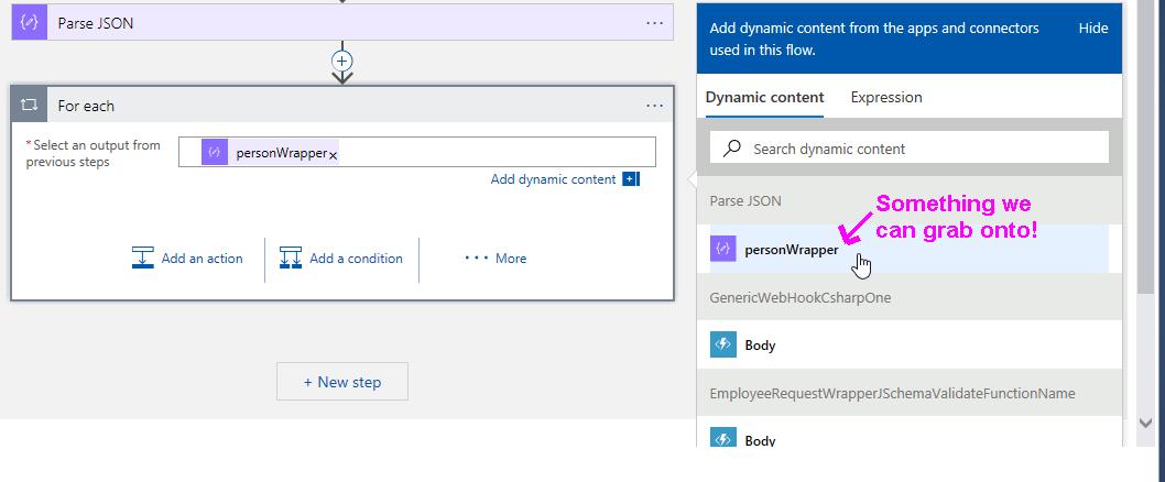 azure function convert document to poco