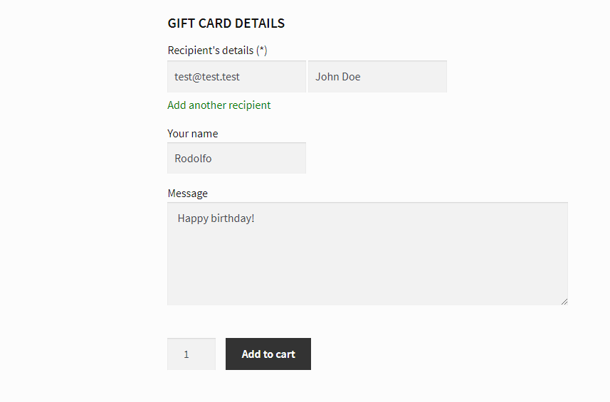 yith woocommerce gift cards documentation